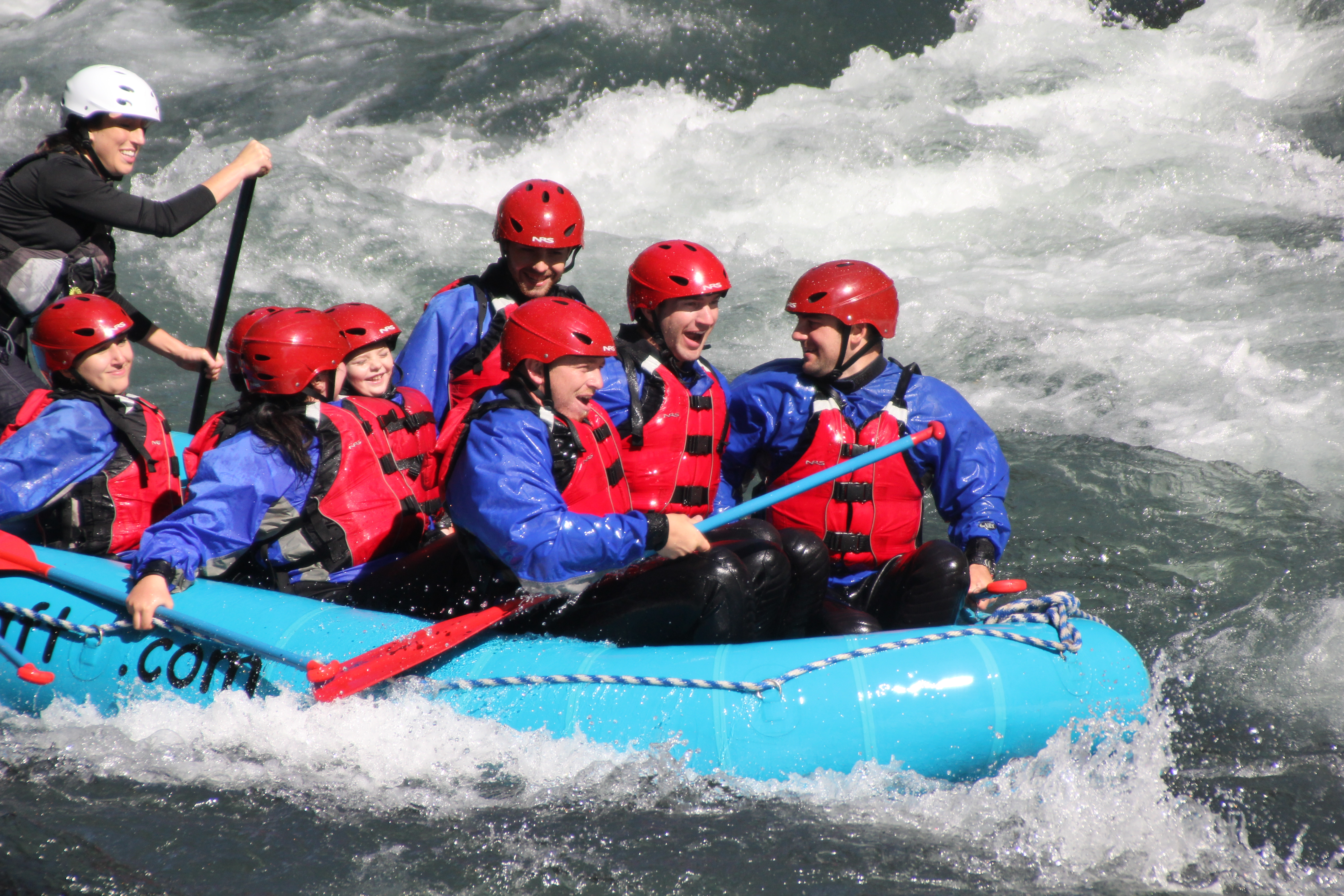 WDFW - Klickitat Wildlife Area - Rafting on White